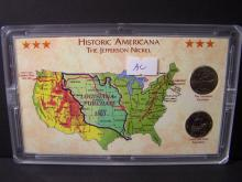 Americana Series Westward Journey Nickel Set.