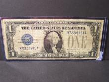 1928A Series $1 Silver Certificate.  Very collectible