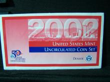 2002-D State Quarter Set.  Still sealed in mint plastic.
