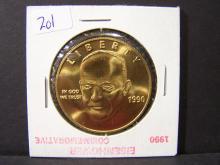 1990 Eisenhower Commemorative Medal.