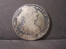 1799 CIRC. Spanish 8 Reale.  Struck at the Mexico City Mint.