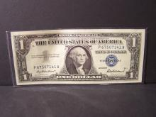 1957 Series $1 Silver Certificate.  Crisp Uncirculated Note!