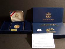 2006 SAN FRANCISCO OLD MINT PROOF GOLD $5 DOLLAR COIN (JUST SHY OF 1/4 OZ. GOLD !!!!!!!!!!!!!!!!!)