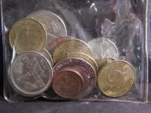 Collector's Bag of World Coins out of an estate collection.