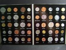 50-Coin World Coin Set.  Includes 50 coins from 50 different countries!