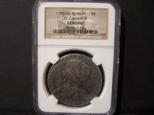 1783-Mo Mexico 8 Real.  EL CAZADOR SHIPWRECK COIN!.  NGC Certified.