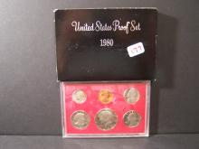 1980 UNITED STATES PROOF SET