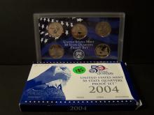 2004 UNITED STATES MINT 50 STATE QUARTERS PROOF SET