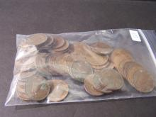 Grab Bag of British Farthing Copper Coins.  Includes some very high-grade coins!