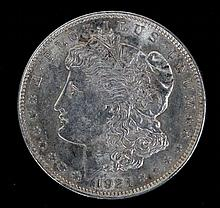 1921 Morgan silver dollar high grade