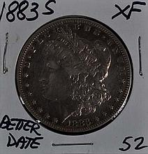 1883-S Morgan Dollar XF Scarce