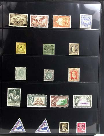 Over 500 World stamps many never used album