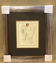 Edgar Degas- Lithograph (offset)