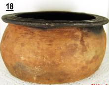 Primitive Earthenware Small Bowl from Bogata, Colombia