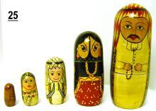 Saudi Arabian Nesting Dolls