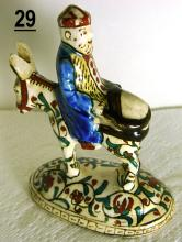 Kutahya Turkish Man on Horse Figurine