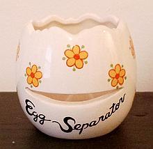 Vintage Japan Ceramic Egg Separator