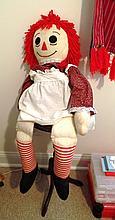 Large Raggedy Ann Doll