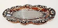 R. Wallace & Sons Sterling Silver Oval Tray