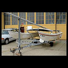1981 16 ft. Hobie Cat with Trailer