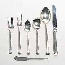 Set of International Serenity Sterling Silver Flatware