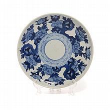 An Underglaze Blue Dish