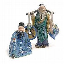 Two Chinese Ceramic Figures
