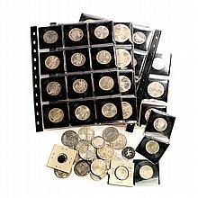 Collection of 61 European Coins