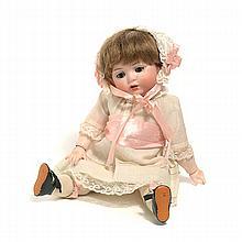 German Bahr & Proschild Bisque Head Lady Doll