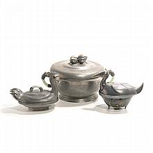 A Large Group of Pewter Wares