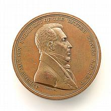 Indian Peace Medal with Andrew Jackson