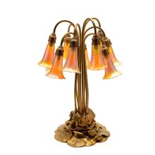 Tiffany Studios Ten Light Lily Table Lamp