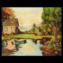 HARRY VINCENT American Landscape Art, Oil