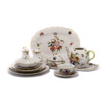 Herend Fruit and Flower Porcelain Dinner Service