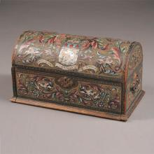 French Renaissance Style Dome Form Traveling Desk