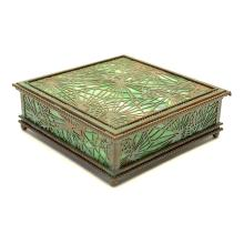 Tiffany Studios Pine Needle Box