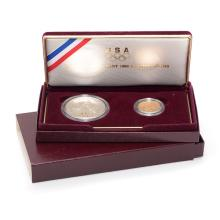 US Mint 1988 Olympic Coin Set.