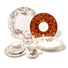 Royal Worcester Dessert Service and Six Service Plates