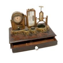 C.H. Wight Are Perennius Desk Clock