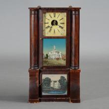 American Merchants Exchange Philadelphia Shelf Clock