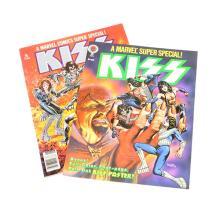 Bronze Age Marvel Comics Super Special #1 & 5, featuring Kiss, NM+ 9.6
