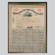 1864 US $500 Bond