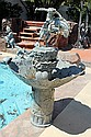 Extra Large Bronze Fountain-Bronco Buster by Remington