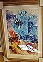 CHAGALL ORIGINAL LITHIOGRAPH SIGNED AR5091