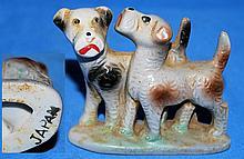 2 Dogs Figurine