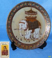 Splendors Elephant Decorator Plate