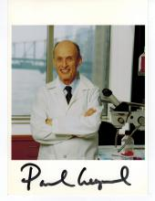 Paul Greengard Hand Signed Photo...Won Nobel Physiology or Medicine
