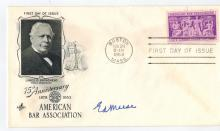 Ed Meese Hand Signed First Day Cover...Former Atty. General.