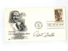 Robert Gallo Hand Signed First Day Cover....Discovered HIV Virus.