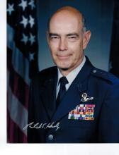General Richard E. Hawley Signed Photo....Air Combat Commander